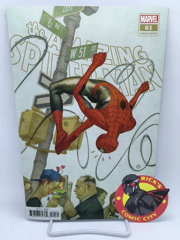 Amazing Spider-Man (2018) #61 Julian Totino Tedesco Variant