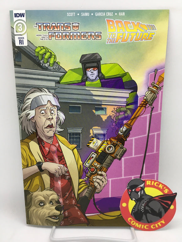 Transformers/Back to the Future (2020) #3 (of 4) Dan Schoening Variant