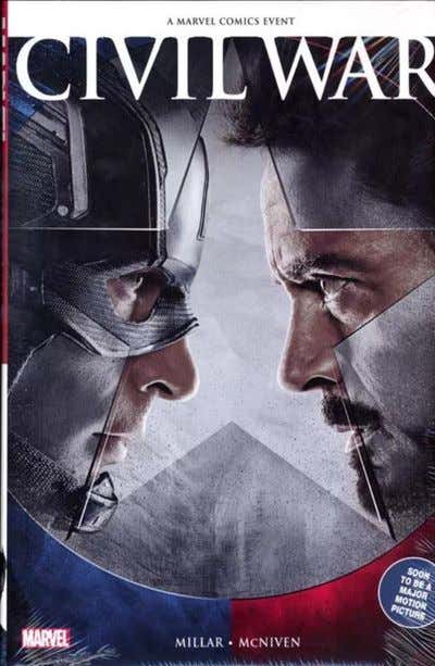 Civil War (Movie Variant Cover) HC