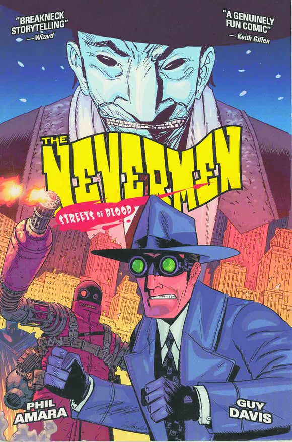Nevermen Vol 02: Streets of Blood TPB