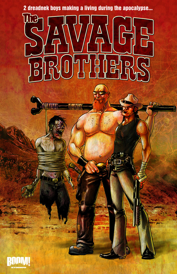 Savage Brothers Vol 01 TPB