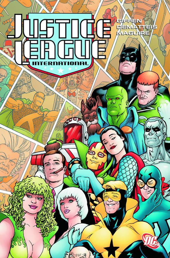 Justice League International Vol 03 TPB