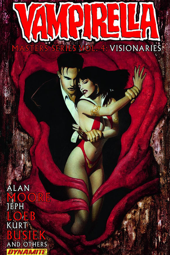 Vampirella Masters Series Vol 04: Alan Moore, Jeph Loeb, Kurt Busiek & Others TPB