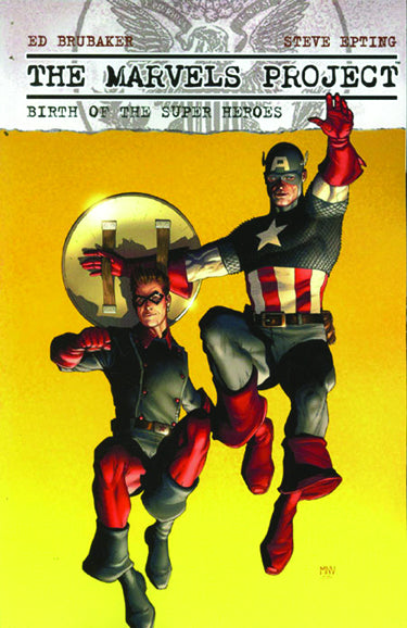 Marvels Project: Birth of the Super Heroes TPB