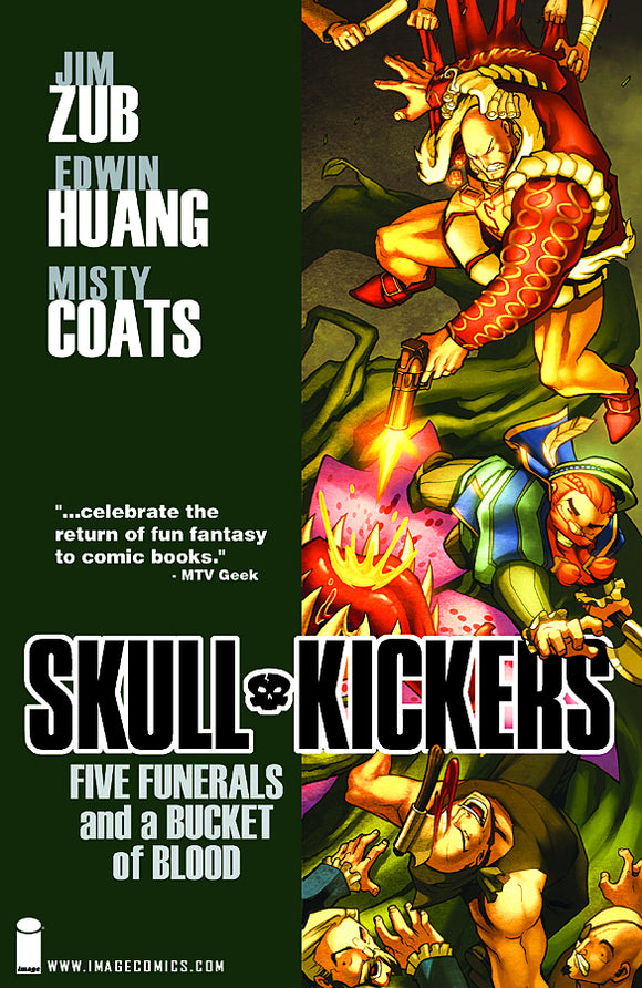 Skullkickers Vol 02: Five Funerals and a Bucket of Blood TPB