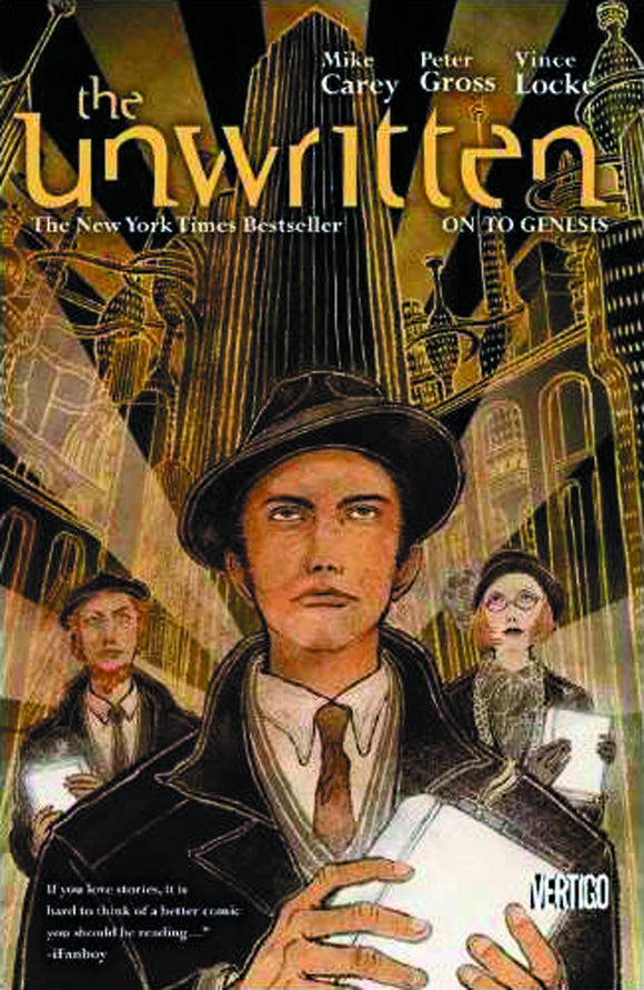 Unwritten Vol 05: On to Genesis TPB