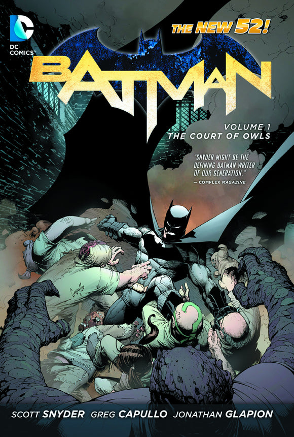 Batman Vol 01: The Court of Owls HC