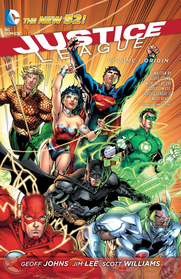 Justice League Vol 01: Origin TPB