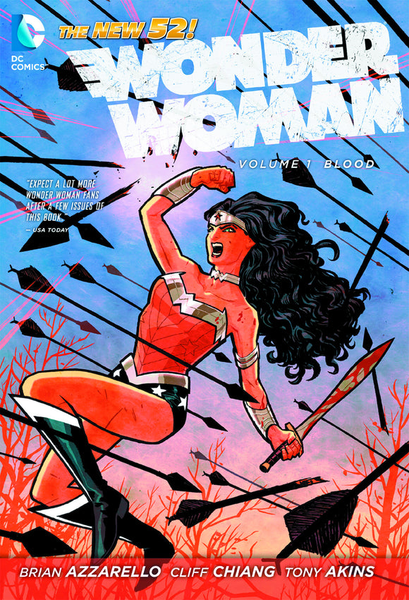 Wonder Woman Vol 01: Blood HC