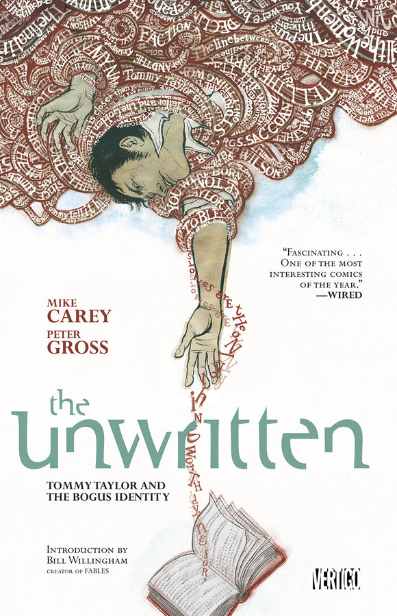 Unwritten Vol 01: Tommy Taylor and the Bogus Identity TPB