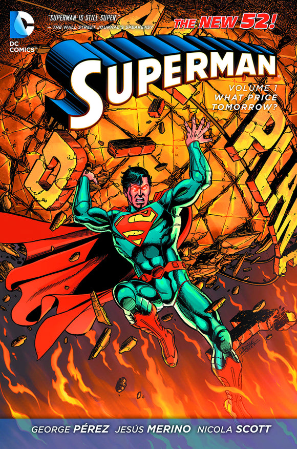Superman [New 52] Vol 01: What Price Tomorrow? TPB