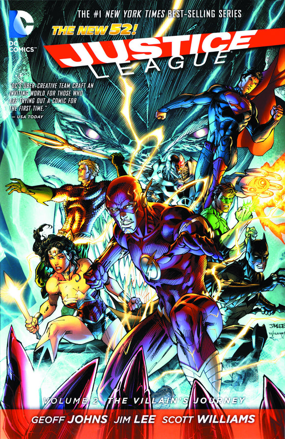Justice League Vol 02: The Villain's Journey HC