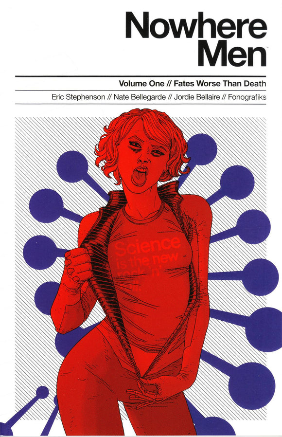 Nowhere Men Vol 01: Fates Worse Than Death TPB