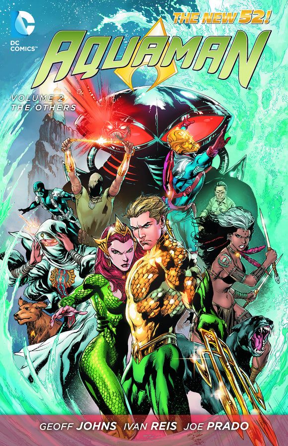 Aquaman Vol 02: The Others HC