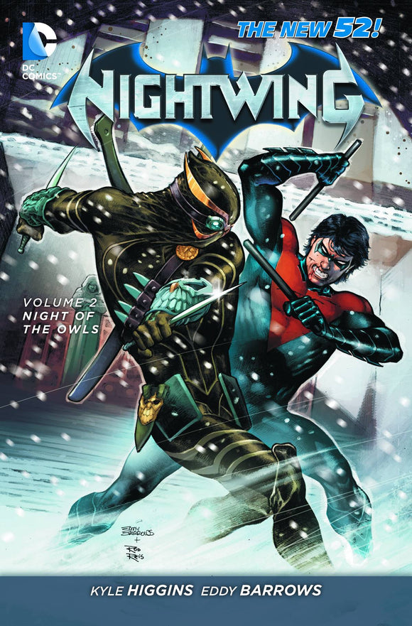 Nightwing Vol 02: Night of the Owls TPB