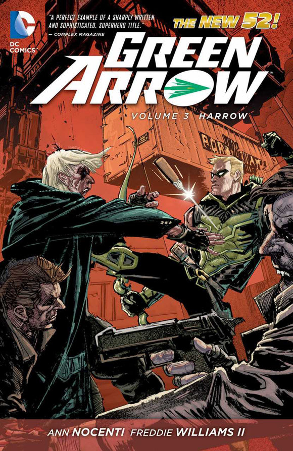 Green Arrow Vol 03: Harrow TPB