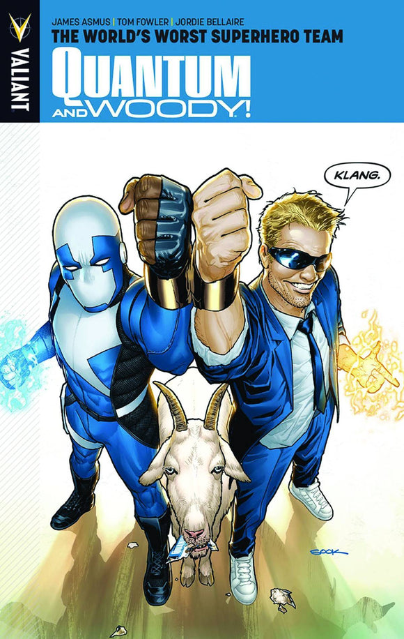 Quantum & Woody Vol 01: The World's Worst Superhero Team TPB