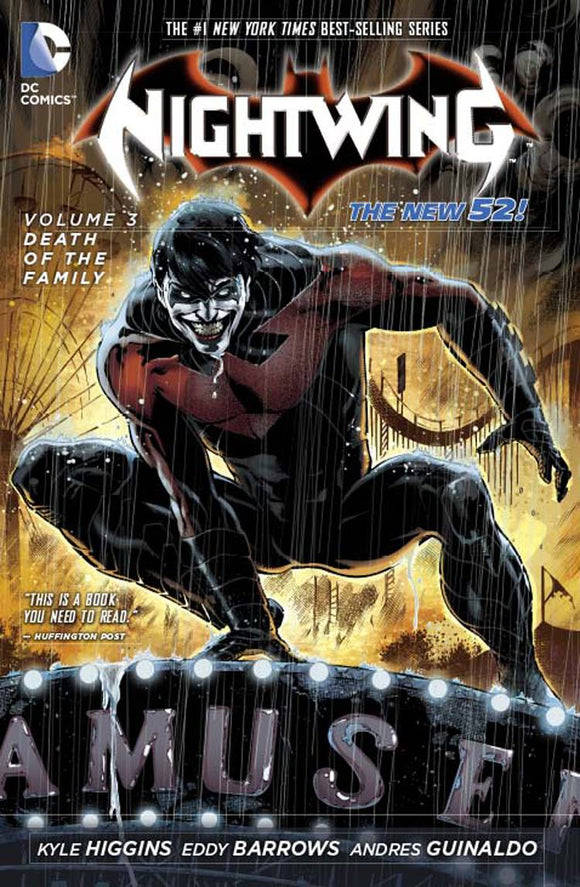 Nightwing Vol 03: Death of the Family TPB