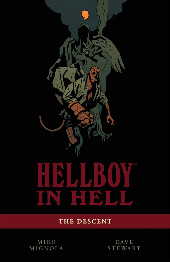 Hellboy in Hell Vol 01: The Descent TPB