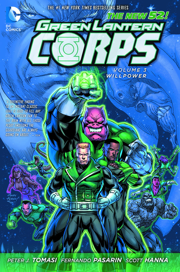 Green Lantern Corps Vol 03: Willpower TPB