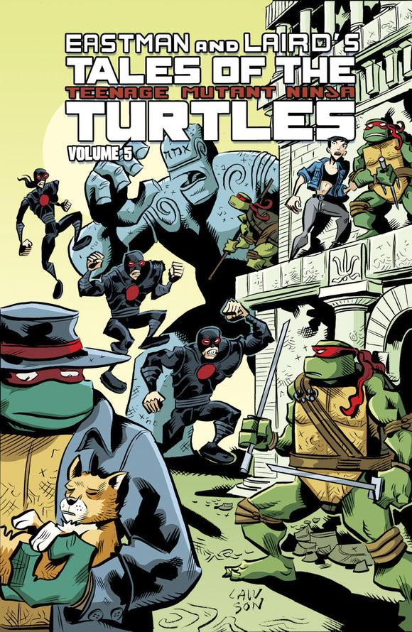 Tales of the Teenage Mutant Ninja Turtles Vol 05 TPB