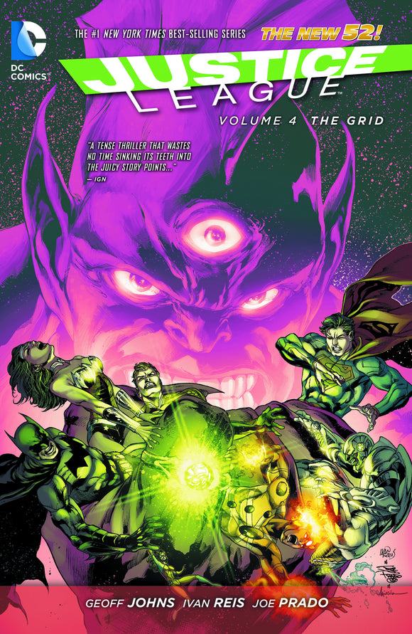 Justice League Vol 04: The Grid TPB