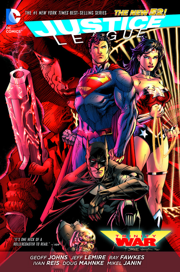 Justice League: Trinity War HC