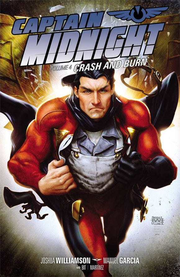 Captain Midnight Vol 04: Crash and Burn TPB