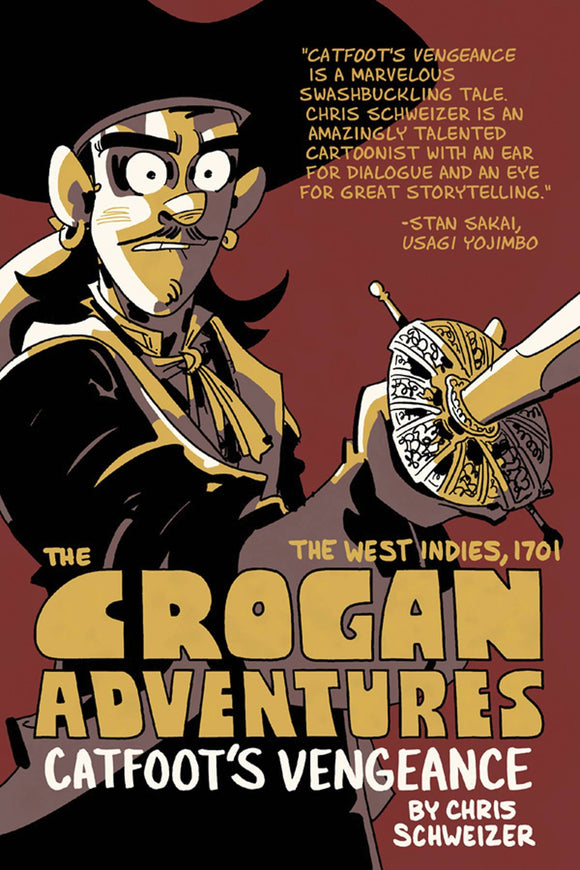 Crogan Adventures Vol 01: Catfoot's Vengeance TPB