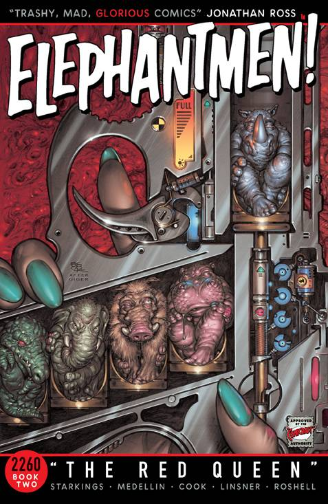 Elephantmen 2260 Vol 02: The Red Queen TPB