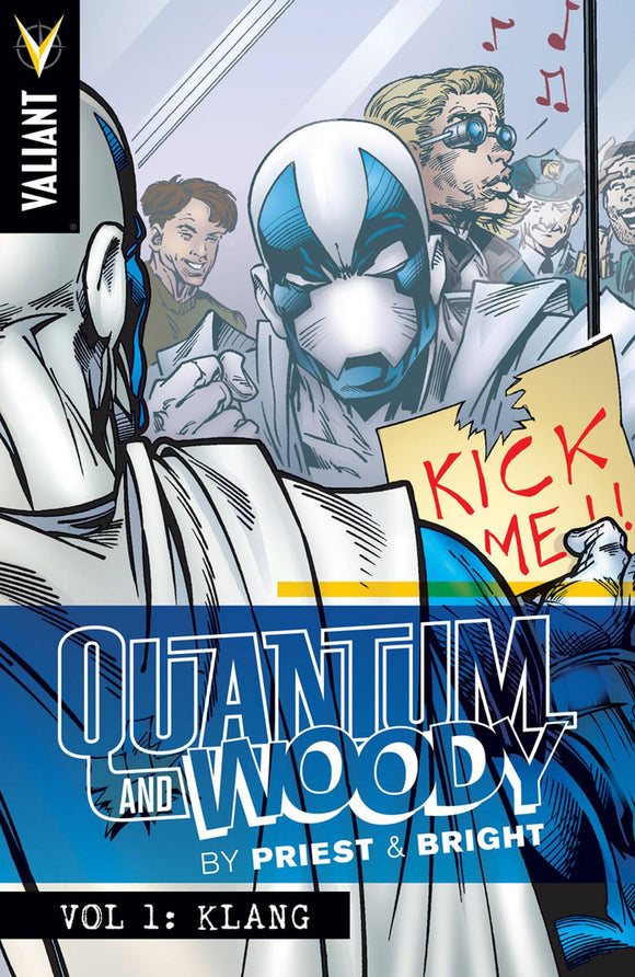 Quantum & Woody by Priest & Brights Vol 01: Klang TPB