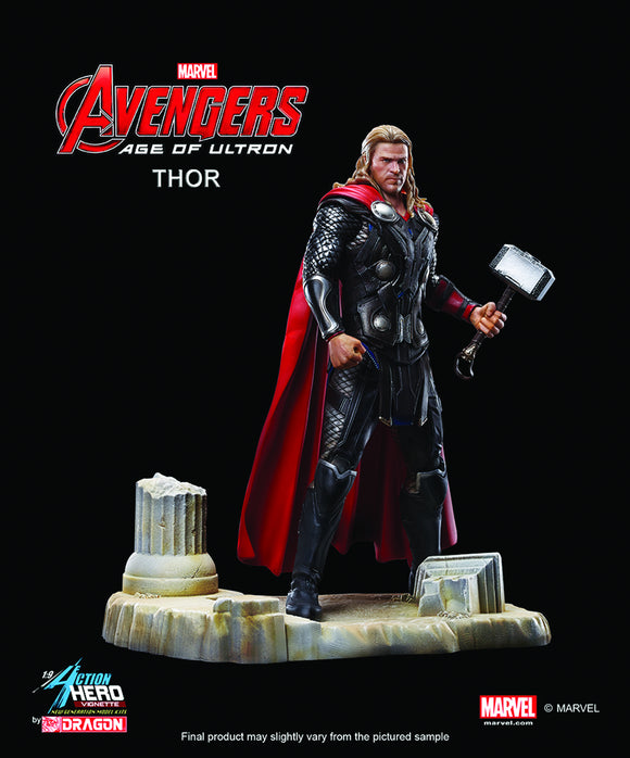 Thor 1/9th Scale Action Hero Vignette Avengers: Age of Ultron