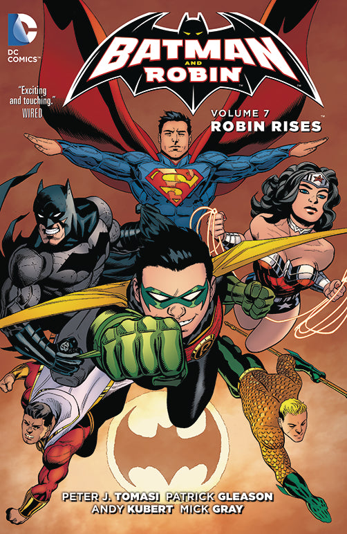 Batman and Robin Vol 07: Robin Rises HC