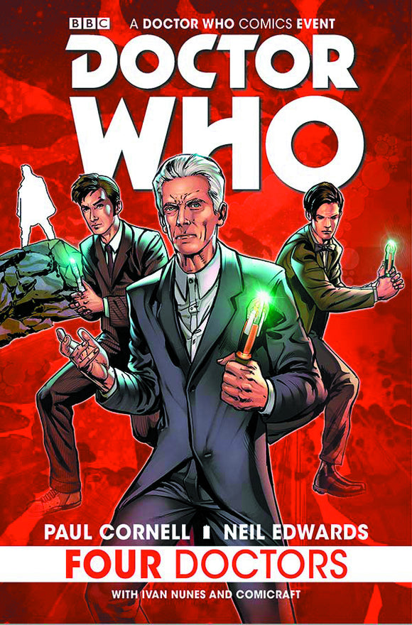 Doctor Who: Four Doctors HC