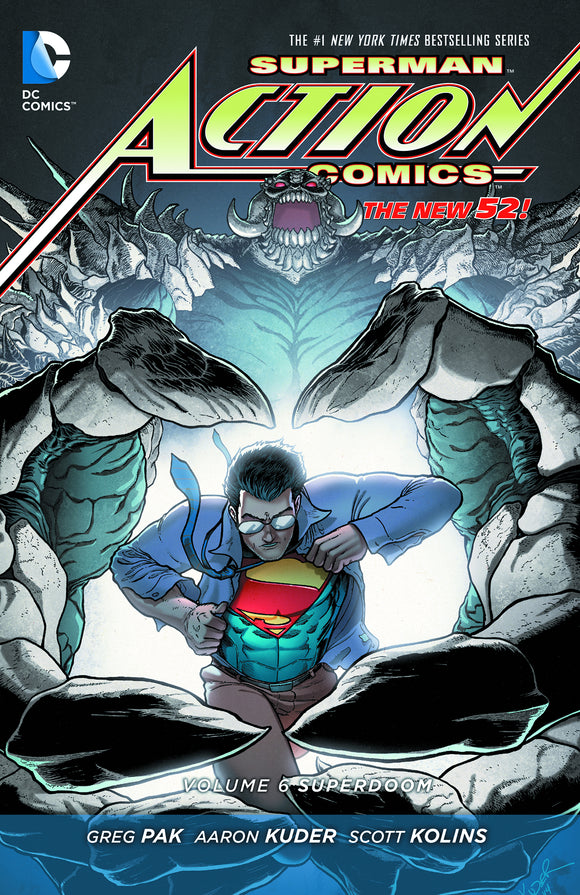 Action Comics [New 52] Vol 06: Superdoom TPB