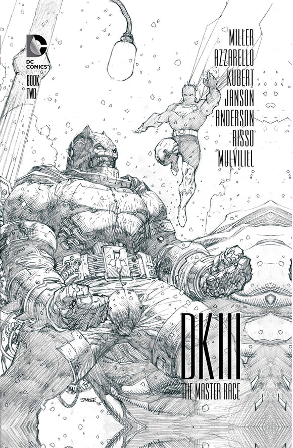 Dark Knight III: The Master Race (2015) #2 (of 9) Collector's Edition HC