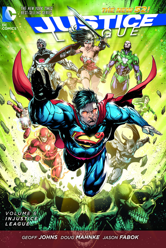 Justice League Vol 06: Injustice League HC