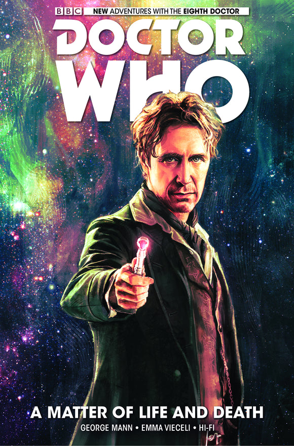 Doctor Who: The 8th Doctor Vol 01: A Matter of Life and Death HC