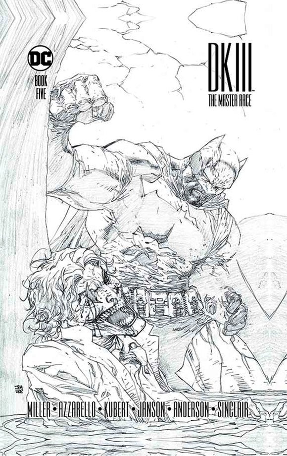 Dark Knight III: The Master Race (2015) #5 (of 9) Collector's Edition HC