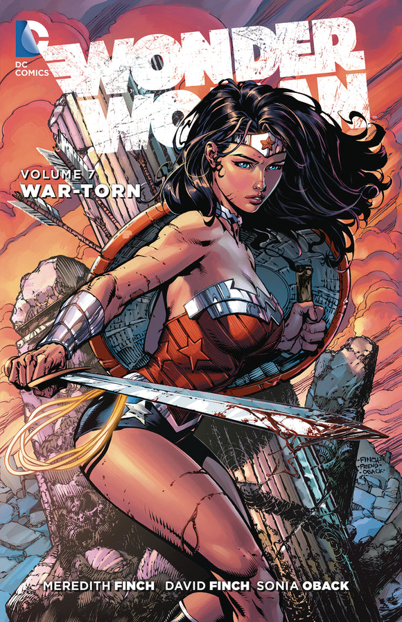 Wonder Woman Vol 07: War-Torn TPB