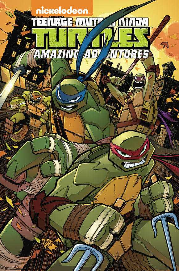 Teenage Mutant Ninja Turtles: Amazing Adventures Vol 02 TPB