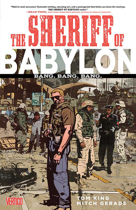 Sheriff of Babylon Vol 01: Bang.Bang.Bang. TPB