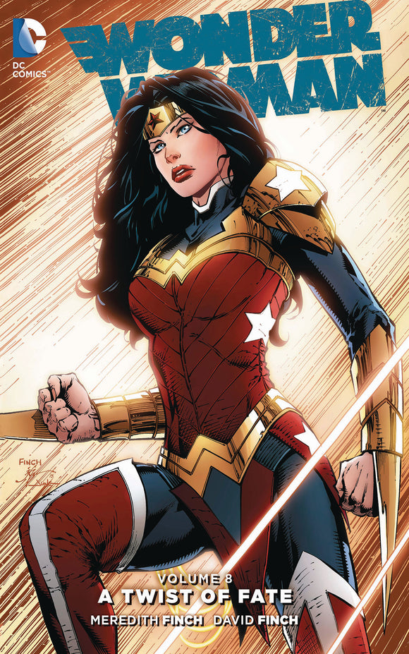 Wonder Woman Vol 08: A Twist of Fate TPB