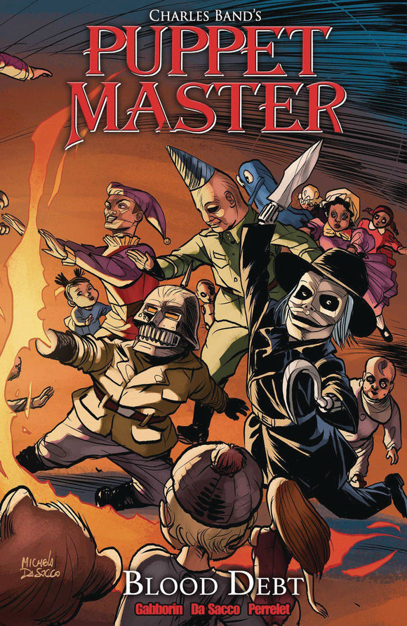 Puppet Master Vol 04: Blood Debt TPB