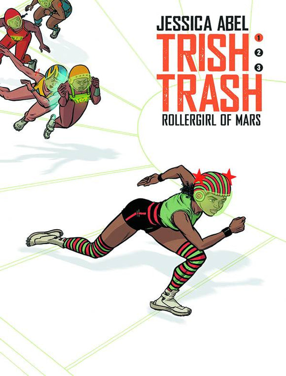 Trish Trash: Rollergirl of Mars HC