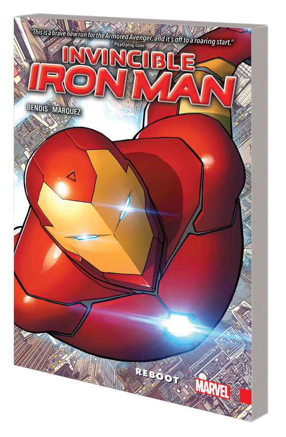 Invincible Iron Man Vol 01: Reboot TPB