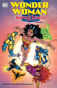 Wonder Woman and The Justice League America Vol 01 TPB