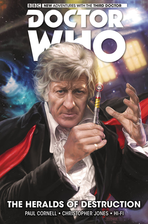 Doctor Who: The 3rd Doctor Vol 01: Heralds of Destruction HC