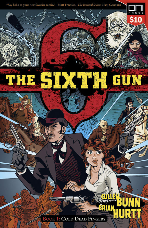 Sixth Gun Vol 01: Cold Dead Fingers TPB