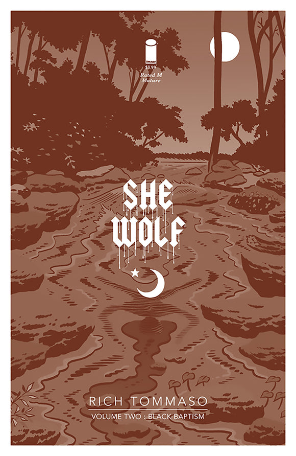 She Wolf Vol 02: Black Baptism TPB